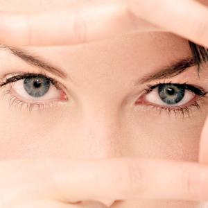 Усталые глаза