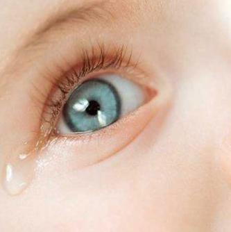 Глаз новорожденного
