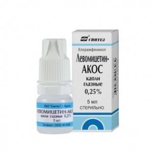 Капли Левомецитин