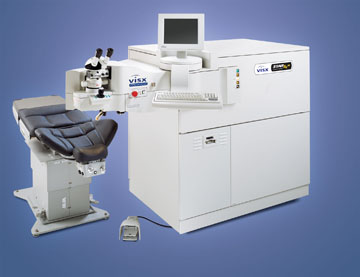 Лазерная установка для коррекции зрения