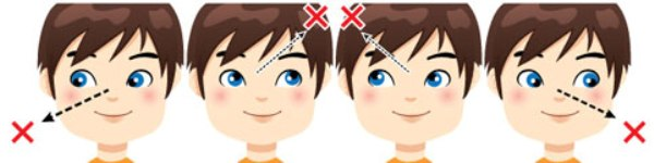 Гимнастика для детских глаз