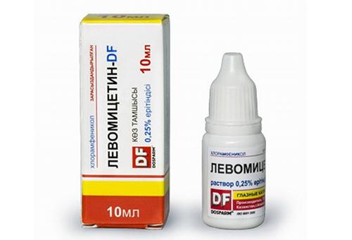 Капли для глаз Левомицетин