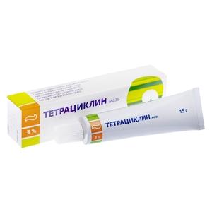 Мазь глазная Тетрациклин
