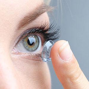 Глаз линза