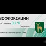 Капли Левофлоксацин