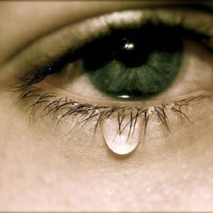 Выделение слезы