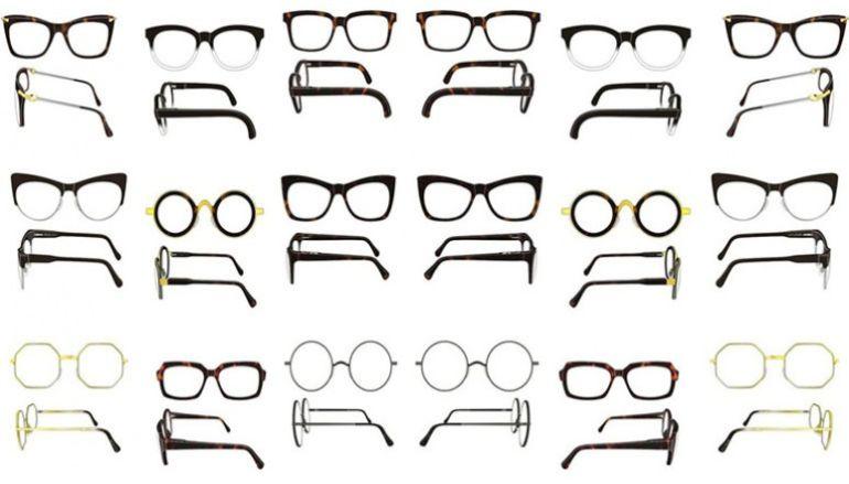 Разновидности оправ очков