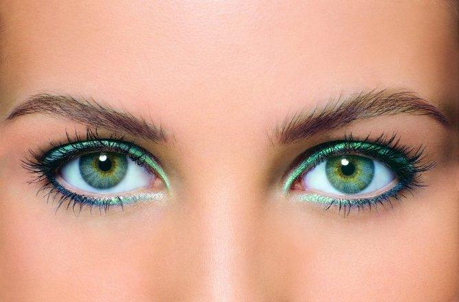 Зелено-синие глаза