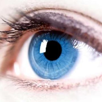 Голубой глаз