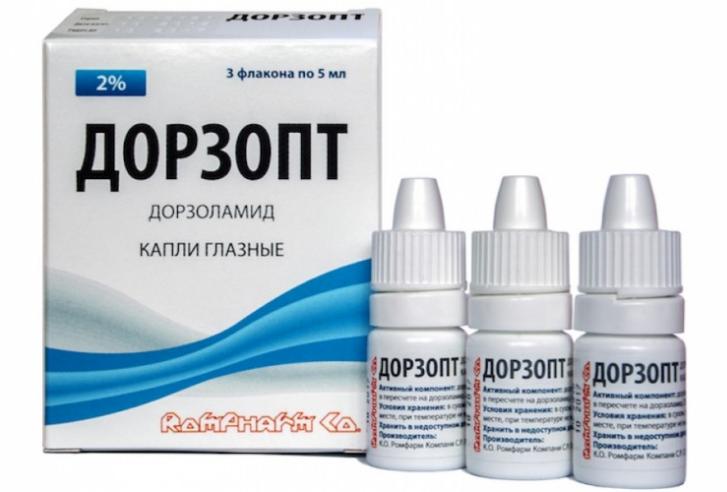 Капли Дорзопт