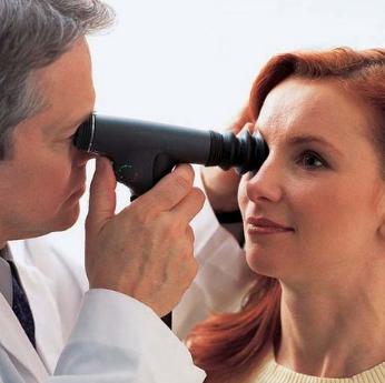 Процедура офтальмоскопии