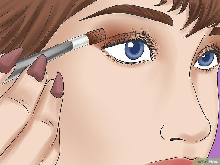 Красит глаз
