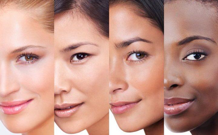 Девушки с разным цветом кожи