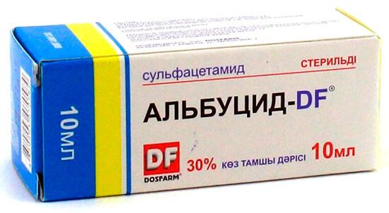 Препарат Альбуцид
