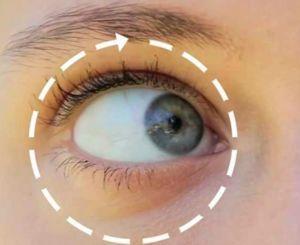Вращение глаза