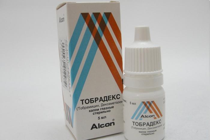 Тобрадекс капли для глаз