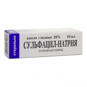Капли Сульфацил-натрия