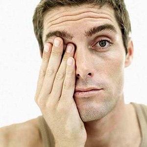 Раздраженная слизистая глаза