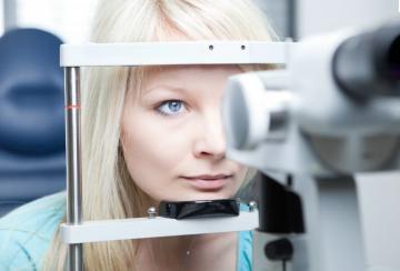 проверка зрения на авторефрактрометре