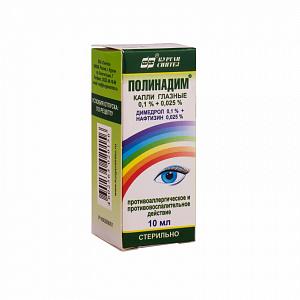 Препарат для глаз Полинадим