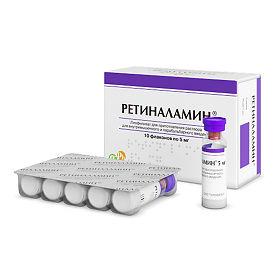 Ретиноламин ампулы
