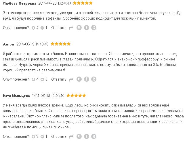 Отзывы о Нутроф тотал